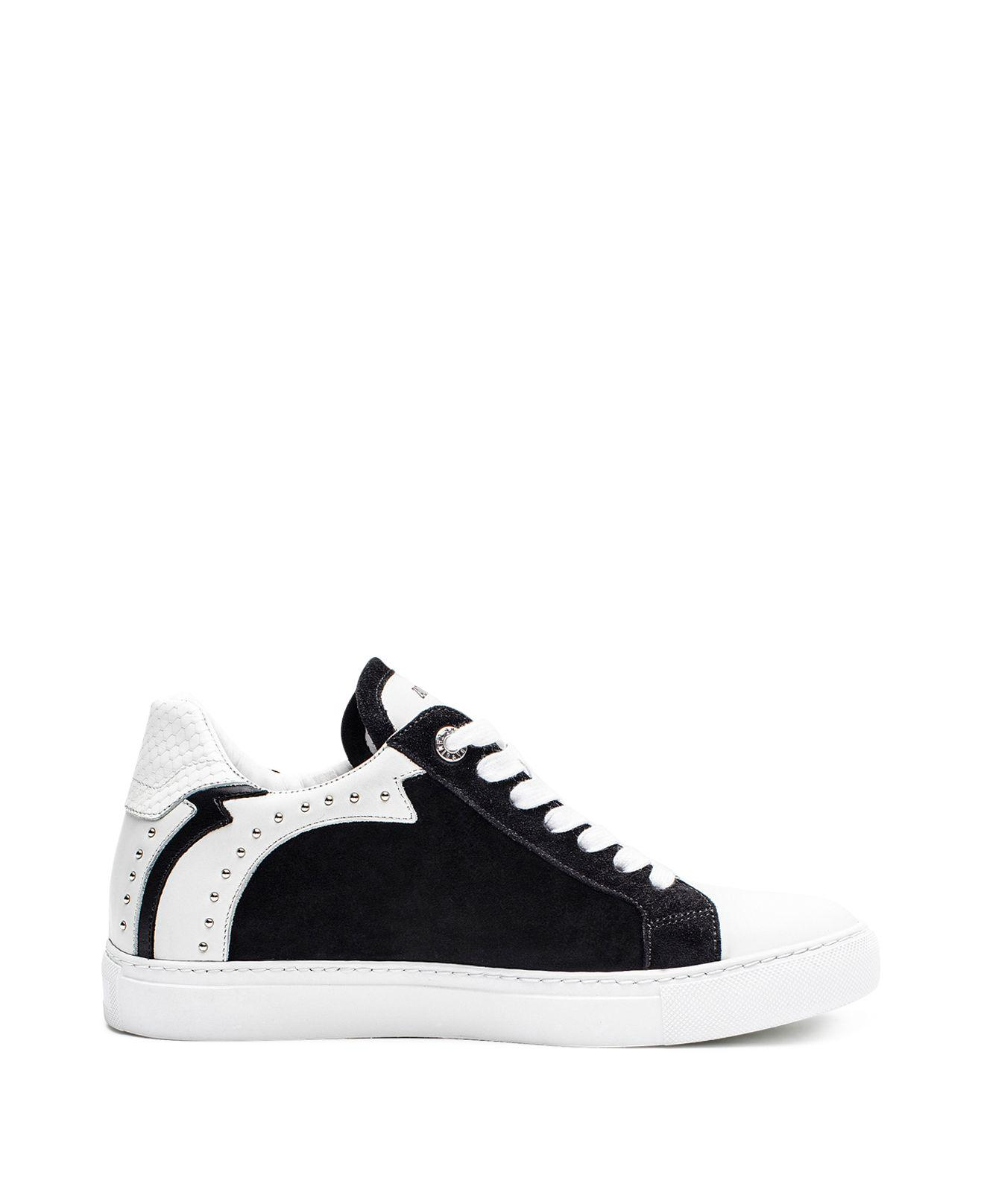 Zadig & Voltaire Women's Zv1747 Nash Studded Leather Sneakers PHFPT