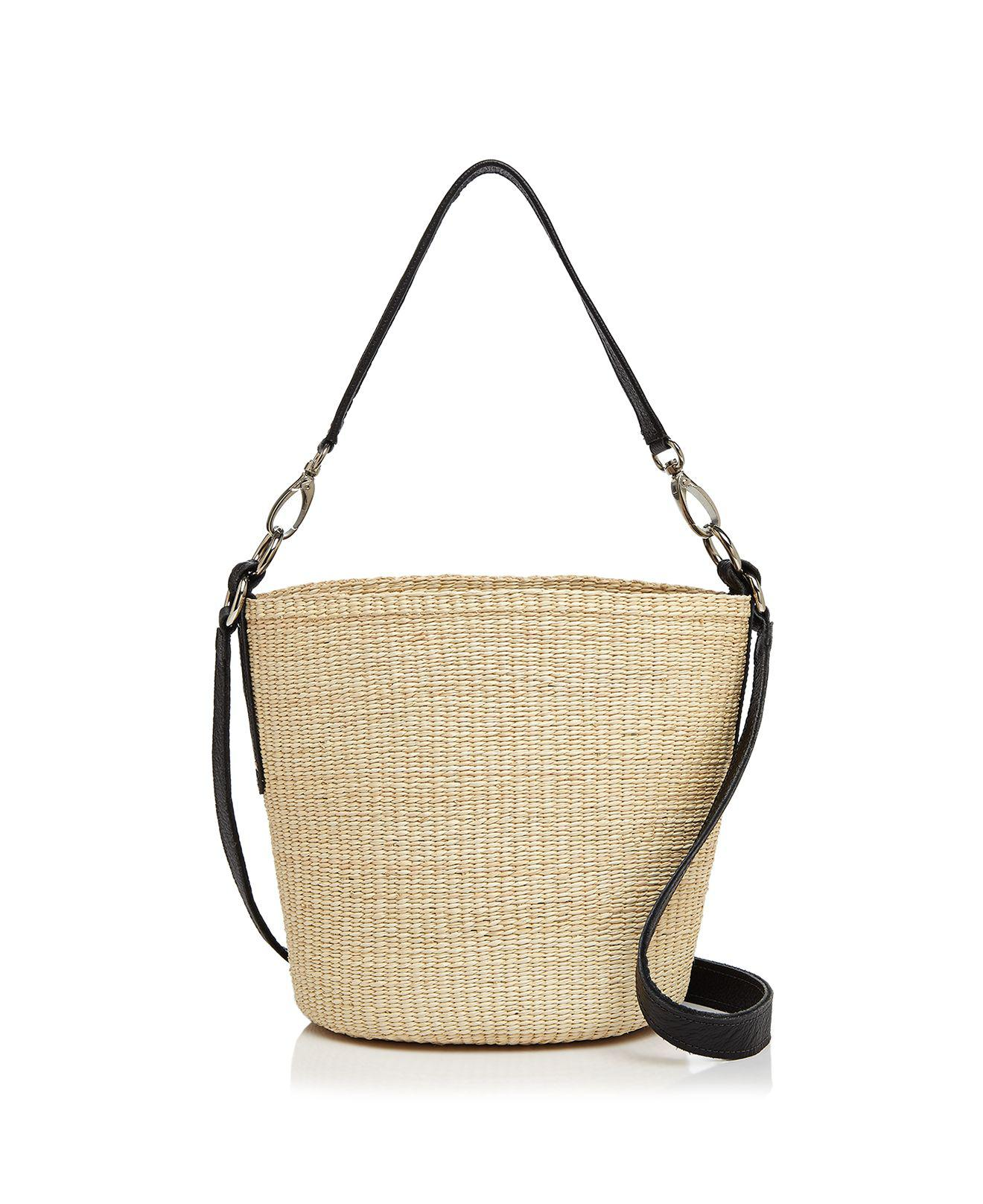 natural oval straw shoulder bag Sensi Studio Buy Cheap Pay With Visa Discount Release Dates Recommend For Sale wFqdYBUbh