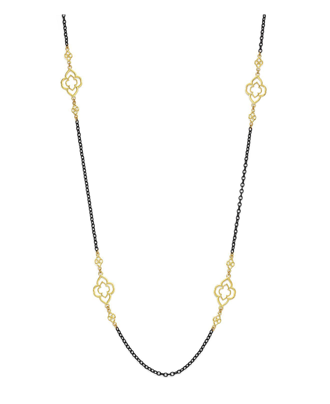 Armenta Heraldry Scroll Cable Chain Necklace, 37