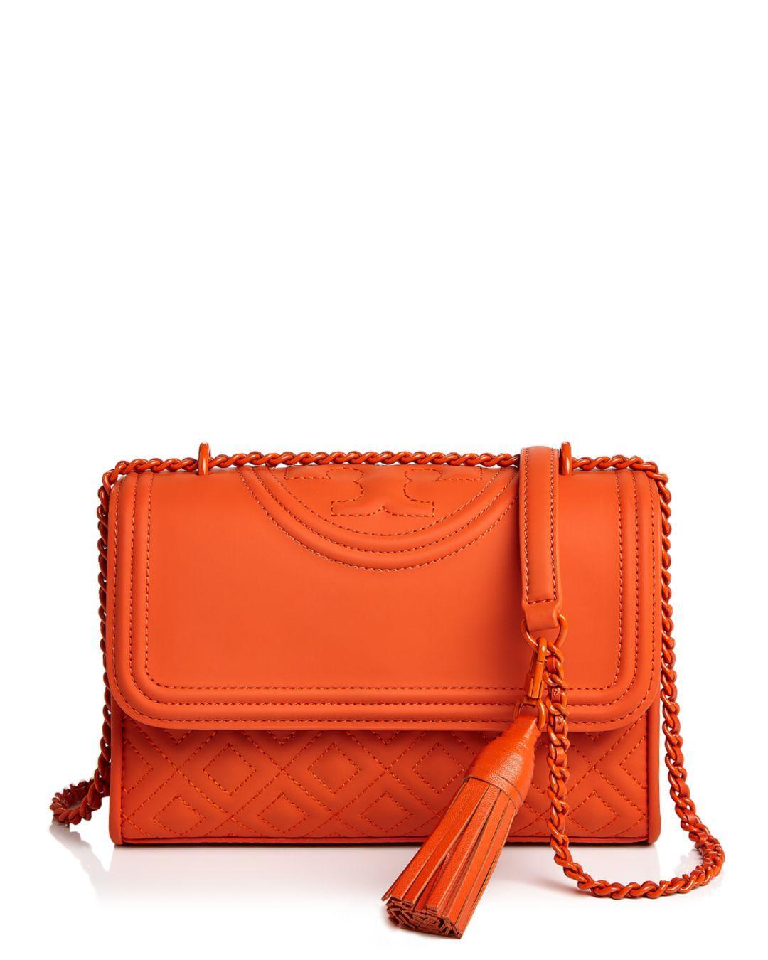 b370b023e51c Tory Burch. Women s Black Fleming Convertible Matte Small Leather Shoulder  Bag