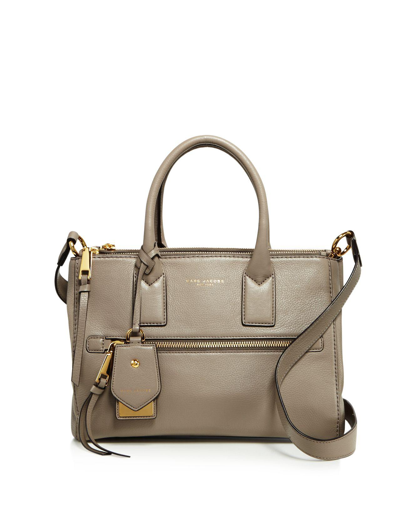 c44e37e6d43e Marc Jacobs Recruit East west Leather Tote in White - Lyst