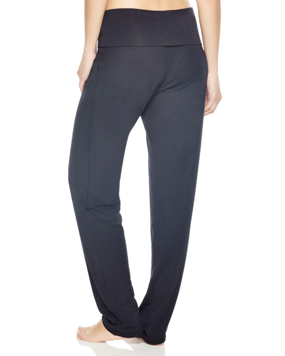 77bf720002803 Lyst - Hanro Basic Lounge Pants in Black