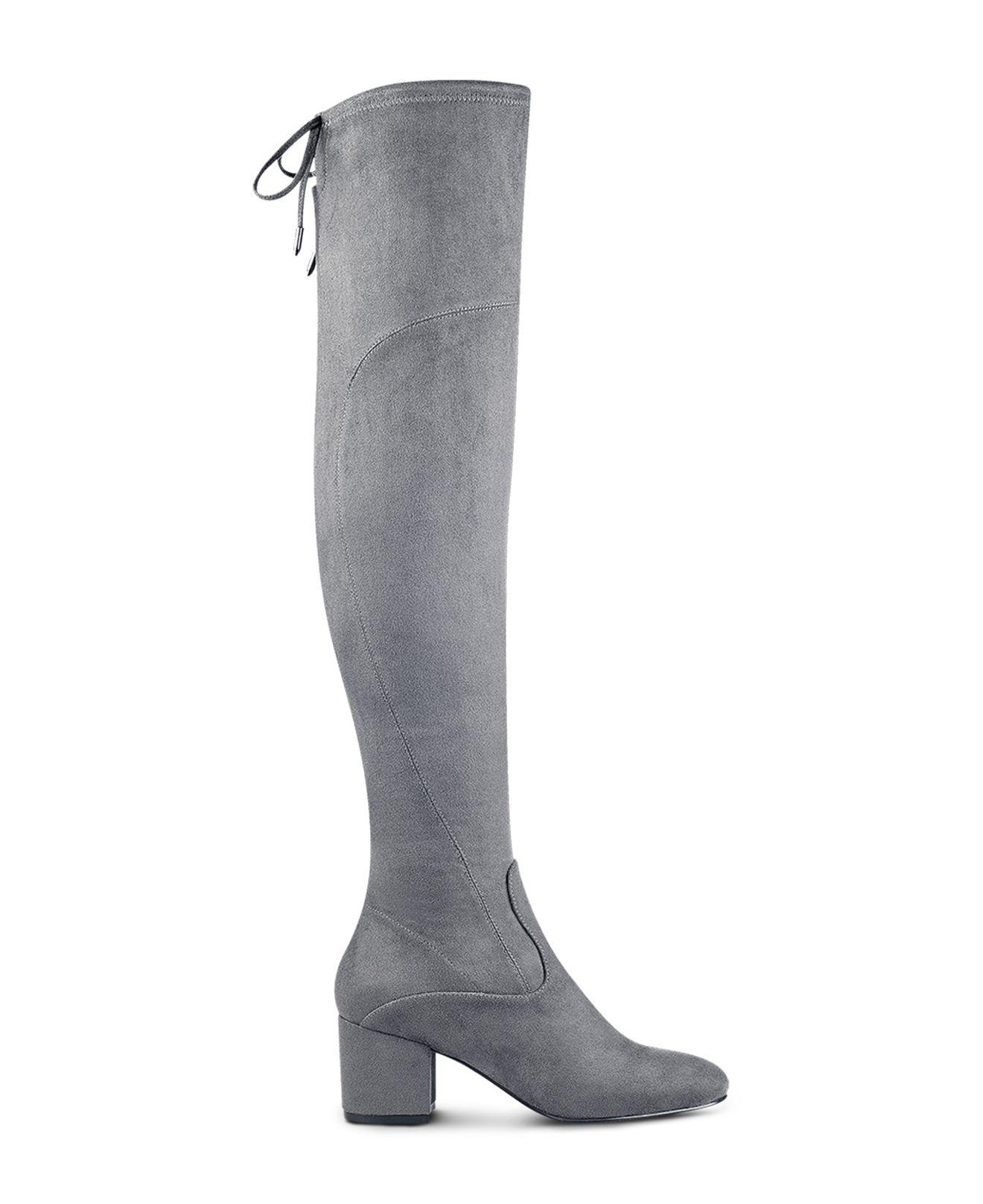 ed477162a71 Ivanka Trump Pelinda Faux Suede Over-the-knee Boots in Gray - Lyst