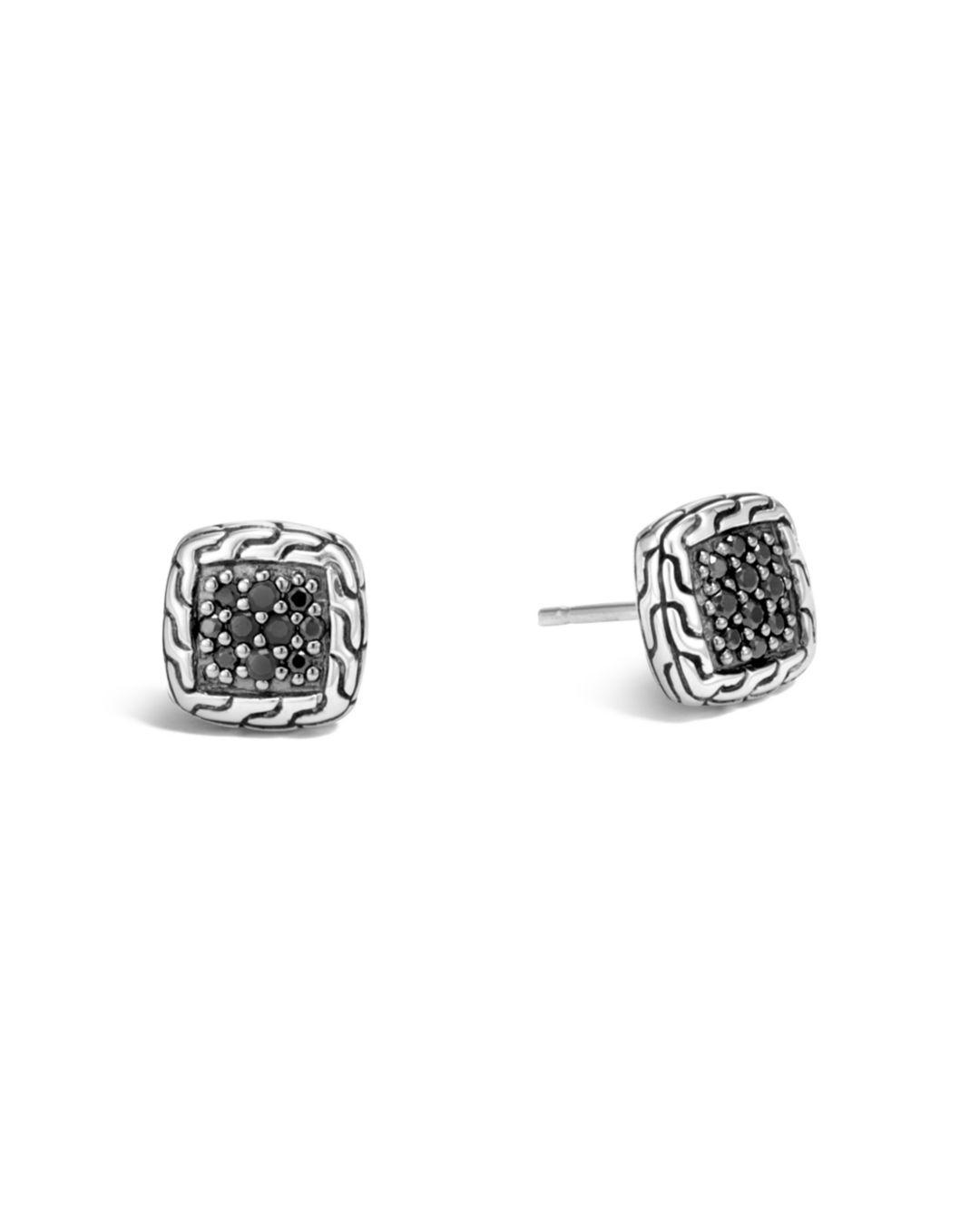 3d8d5030e John Hardy. Women's Metallic Sterling Silver Classic Chain Lava Stud  Earrings ...