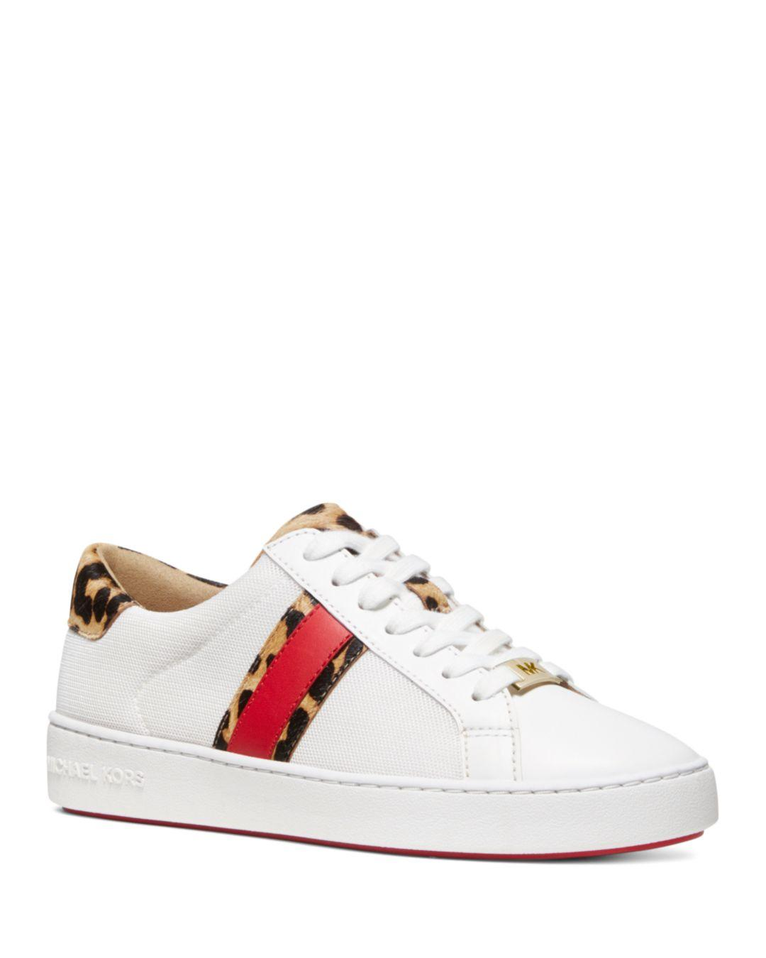 a714adc8c56 Lyst - Michael Kors Michael Irving Trainers in White - Save 29%