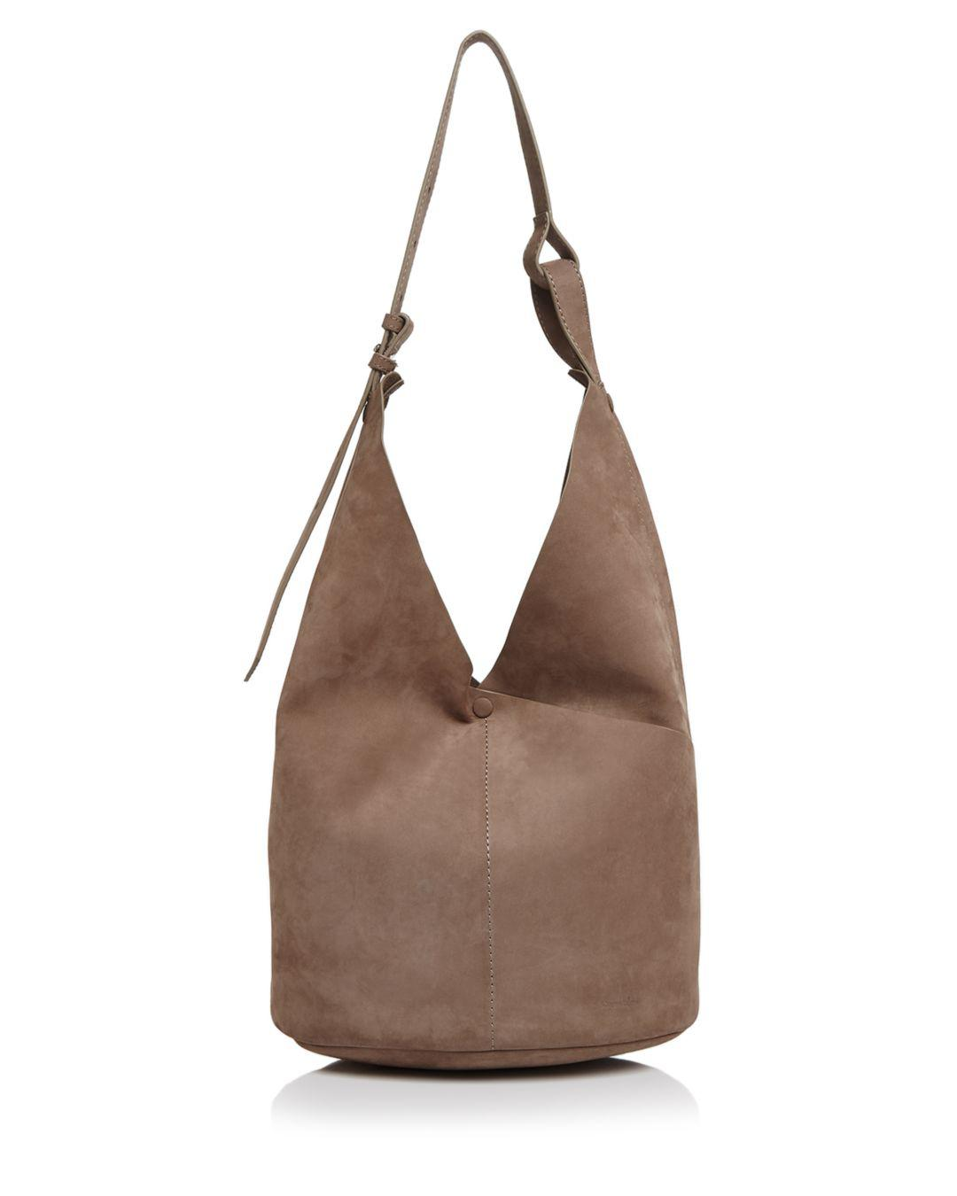 1e0d7b8dab36 Steven Alan Etta Large Suede Hobo in Brown - Lyst