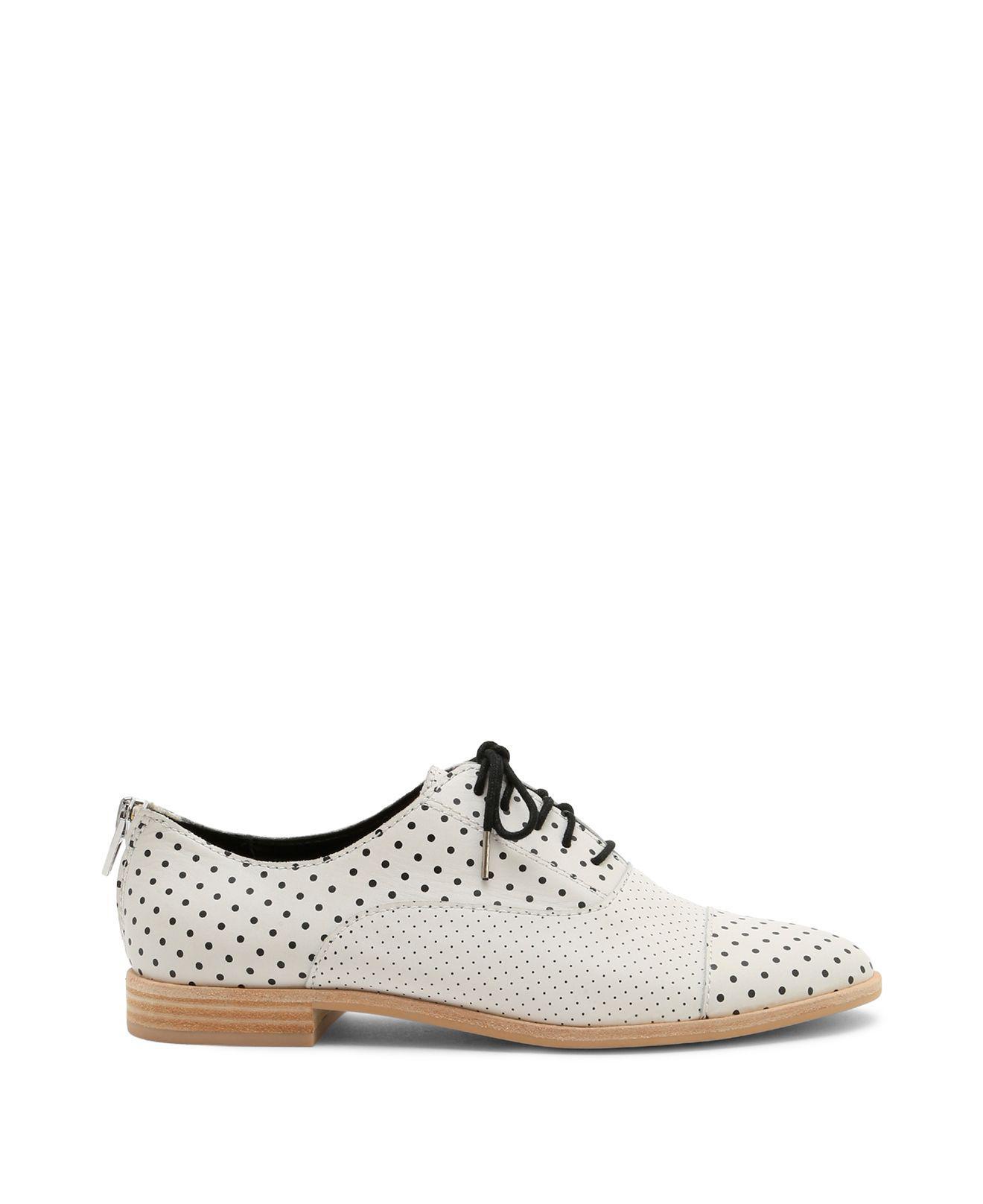 Dolce Vita Women's Polo Polka Dot Leather Oxfords rsyheWb0