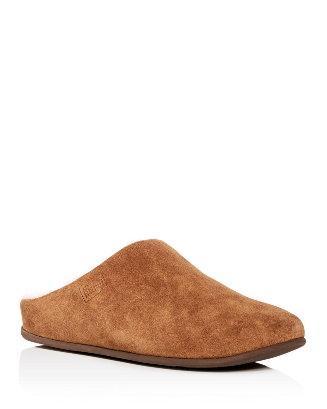 f7e8d2667 Lyst - Fitflop Women s Chrissie Shearling Slippers in Brown