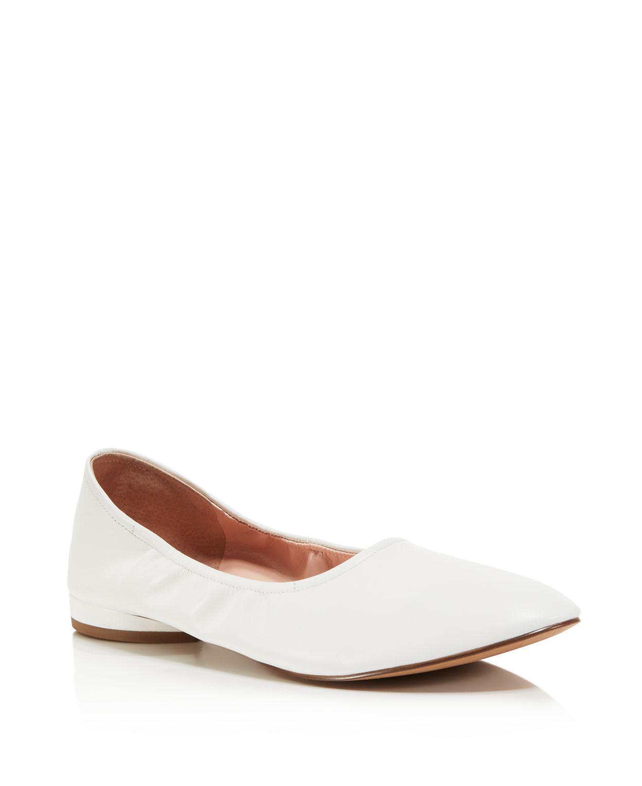 Shoes Of Prey Patent Ballent Flats