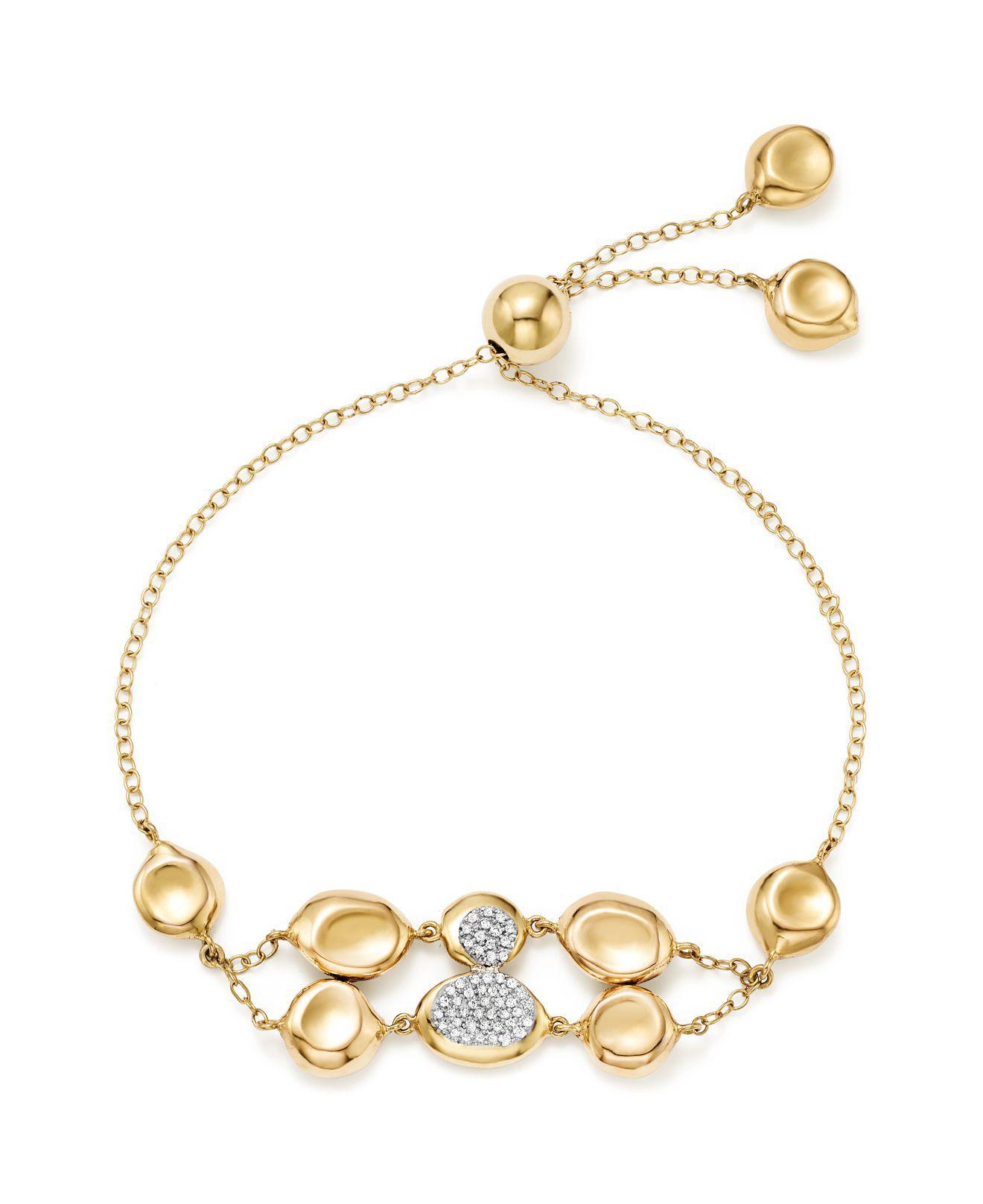 Ippolita Onda Chain Bracelet with Diamonds d0Bk5kWe