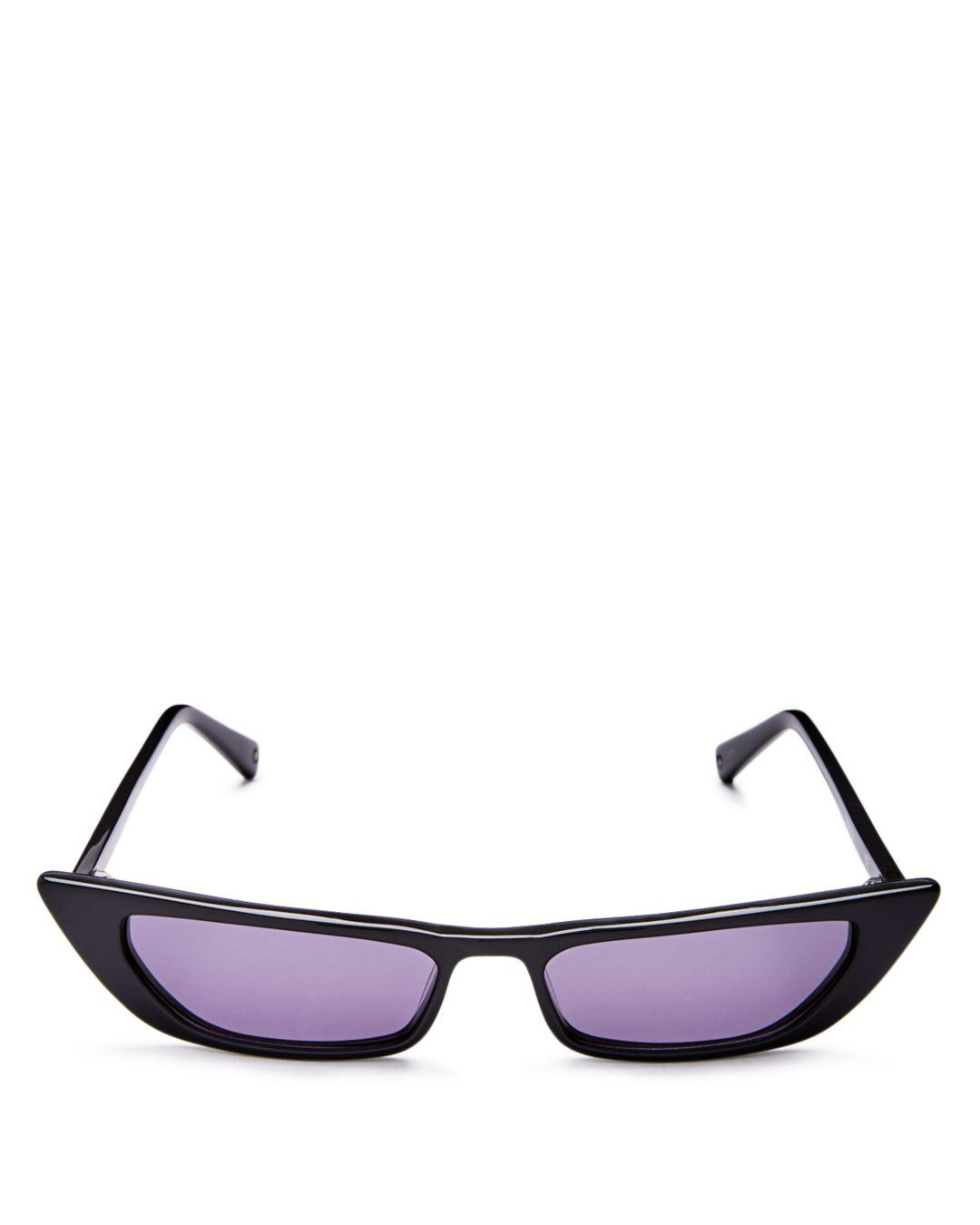 6bd4e03d2a7 Kendall + Kylie. Kendall And Kylie Women s Vivian Extreme Cat Eye Sunglasses  ...