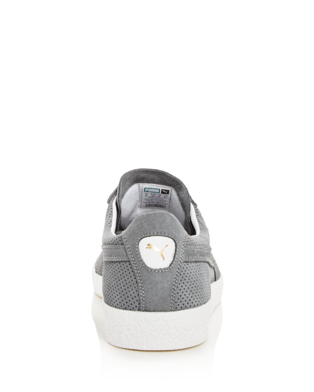 7ddc412b04b PUMA - Gray Men s Te-ku Summer Perforated Suede Lace Up Sneakers for Men -.  View fullscreen