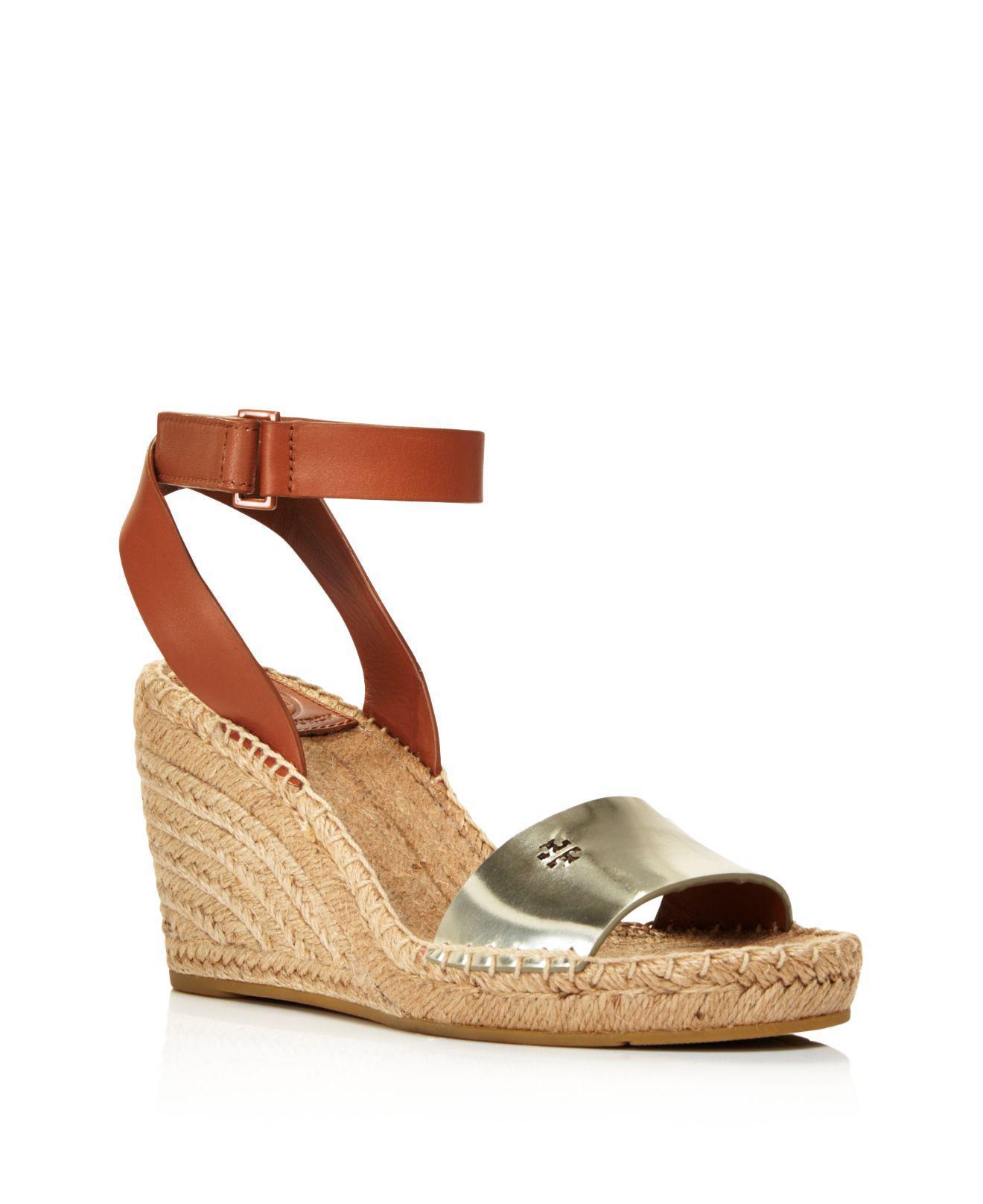 Tory Burch. Women's Bima Espadrille Platform Wedge Sandals
