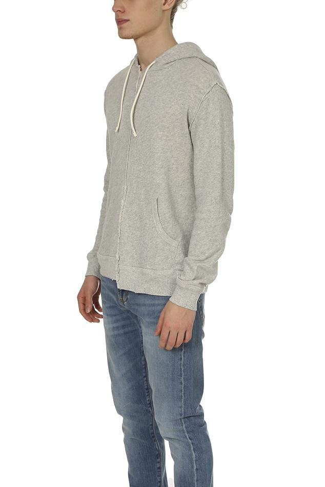 0a27ac45376f R13 Spliced Hoodie in Gray for Men - Lyst