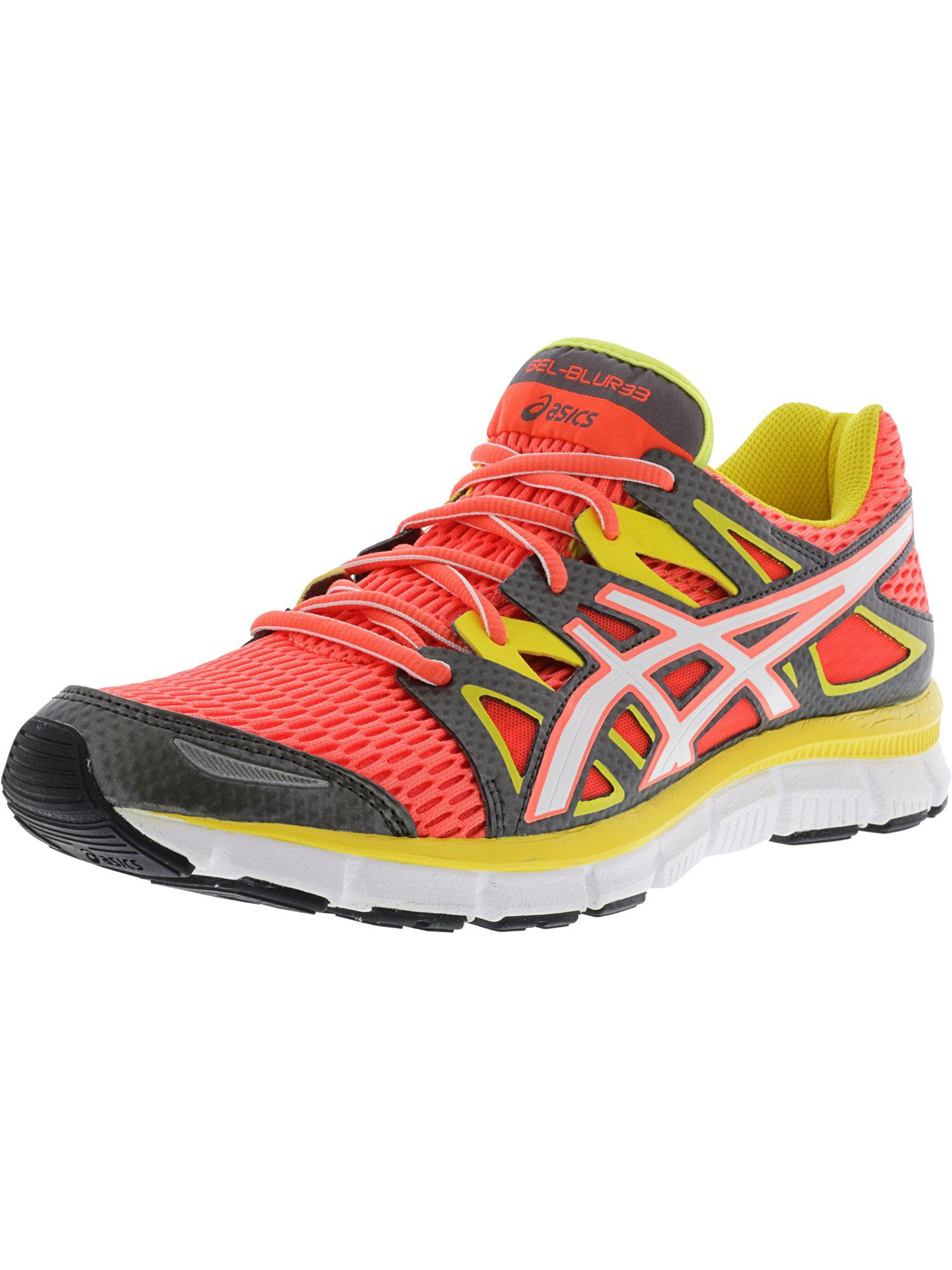 36c7087b9a10 Lyst - Asics Women s Gel-blur33 2.0 Hot Coral   White Sulfur Yellow ...