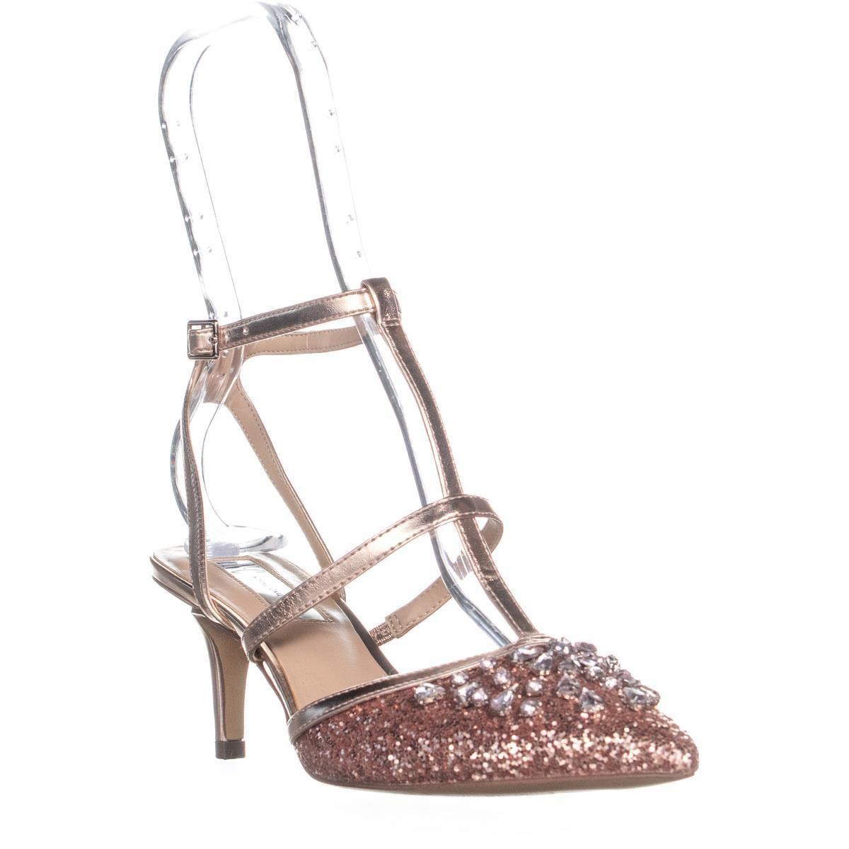 47eb4465ef3 INC International Concepts. Women s I35 Carma5 Rhinestone T Strap Sandals