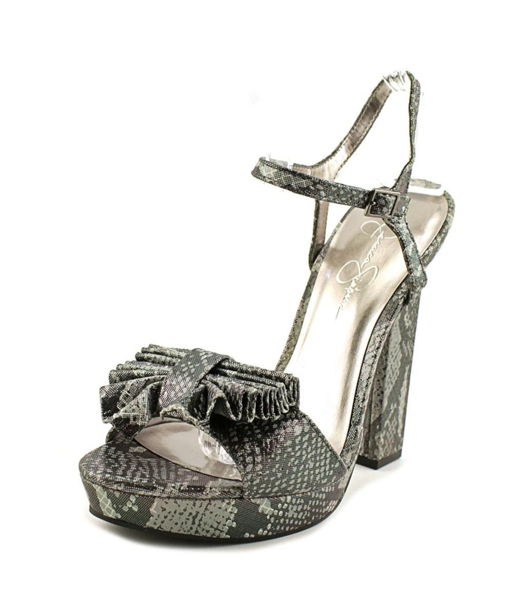 affa2f33346 Lyst - Jessica Simpson Casa Women Open Toe Synthetic Platform Heel ...