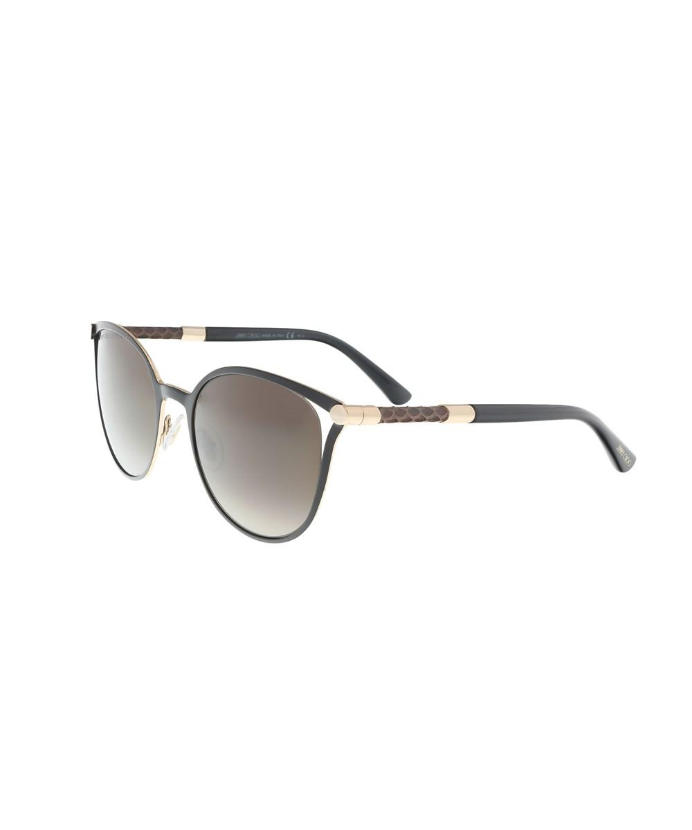 10f9569edb32 Lyst - Jimmy choo Neiza s 0j6h Matte Black Cateye Sunglasses in Black