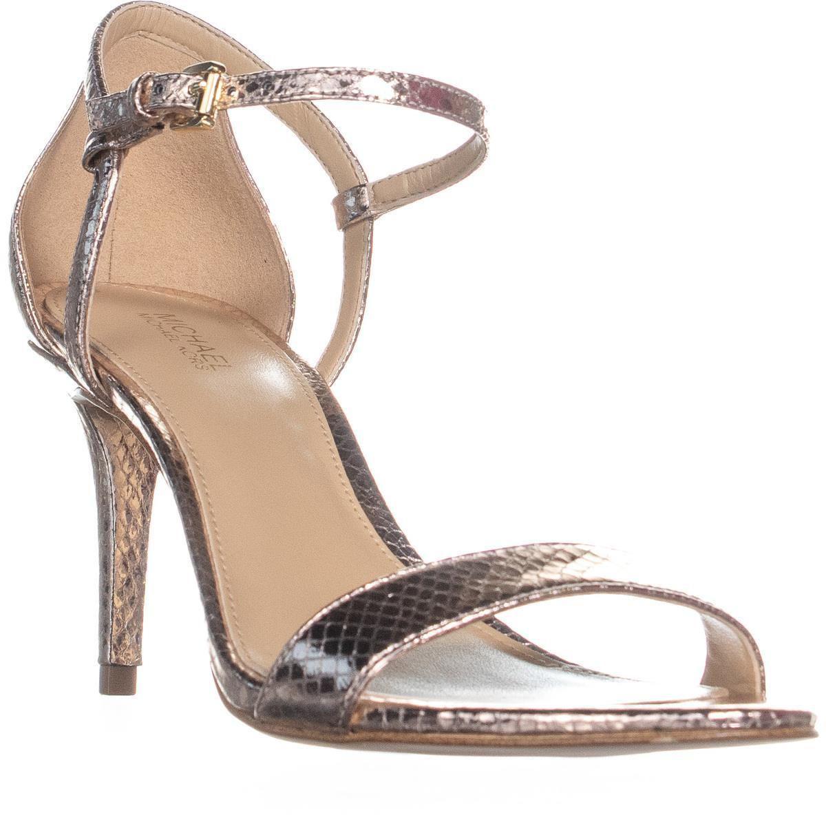 e3793cb0373 Michael Kors. Women s Michael Simone Mid Sandal Ankle Strap Sandals ...