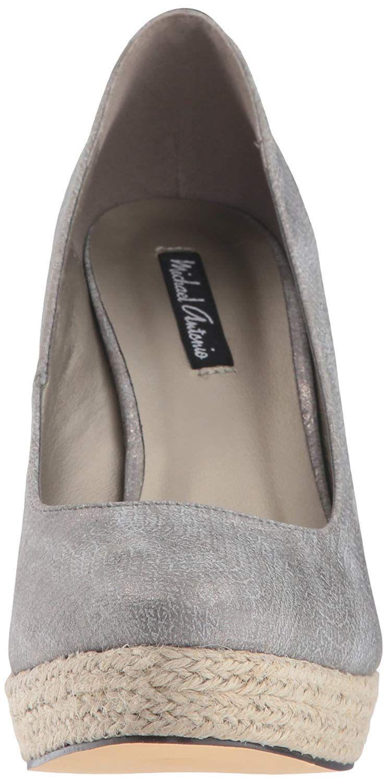 39661bc25c0 Michael Antonio - Gray Women s Anabel-snk Wedge Sandal - Lyst. View  fullscreen