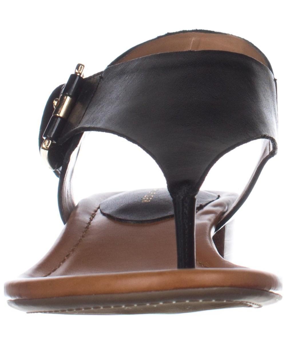 e83f5c1b4ae2d Lyst - Tommy Hilfiger Kitty T-strap Thong Sandals