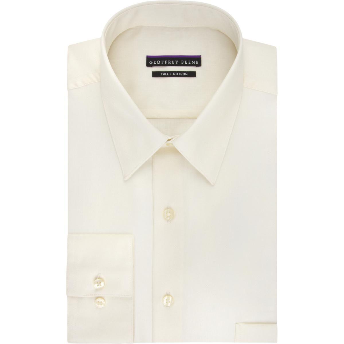 Lyst Geoffrey Beene Mens Big Tall Tab Collar Cuff Sleeves Button