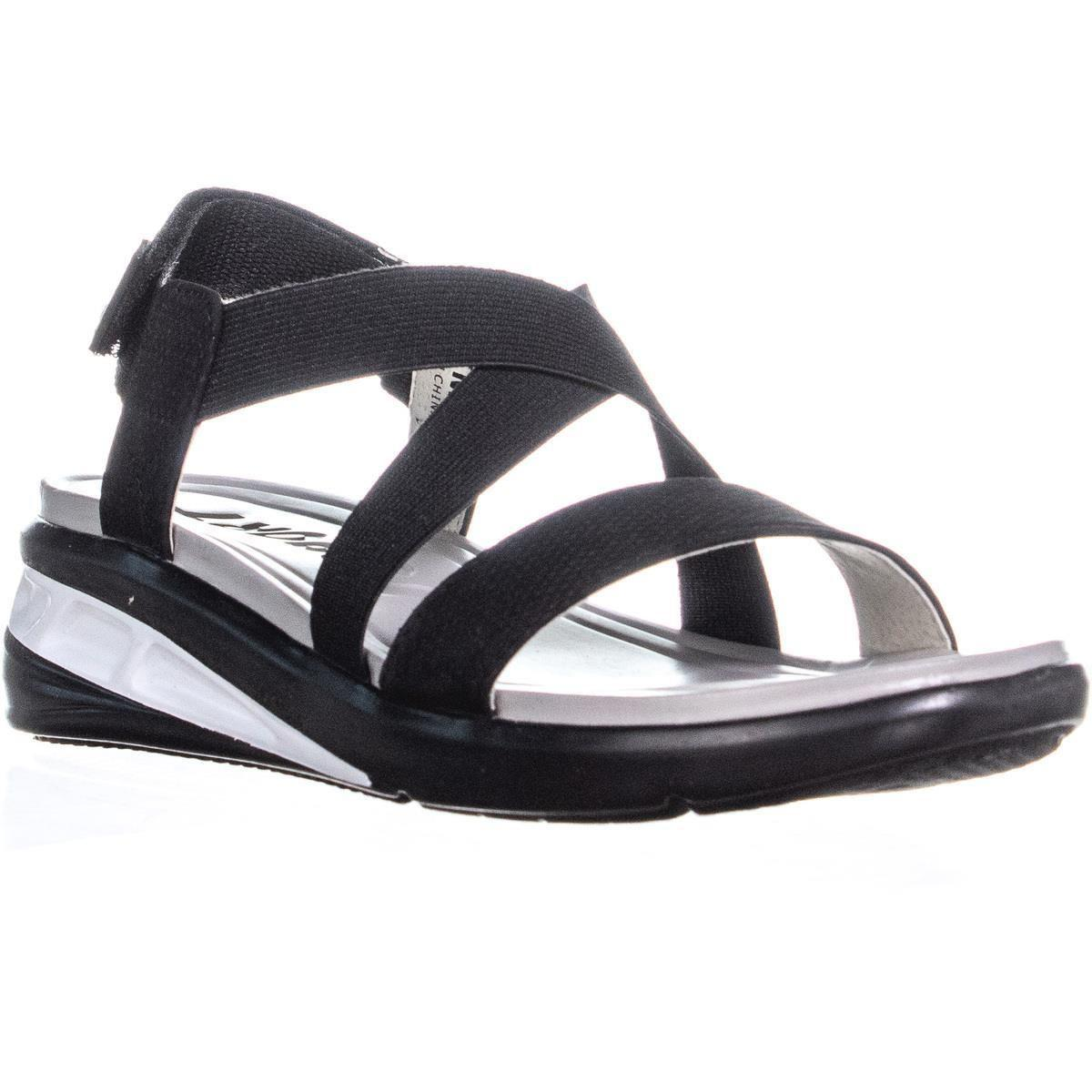 619542d85a3 Jambu. Women s Jsport By Sunny Strappy Wedge Sandals ...