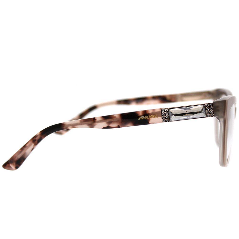 e9383c5b1591 Swarovski - Brown Sk 5091 072 Shiny Pink Cat-eye Eyeglasses - Lyst. View  fullscreen