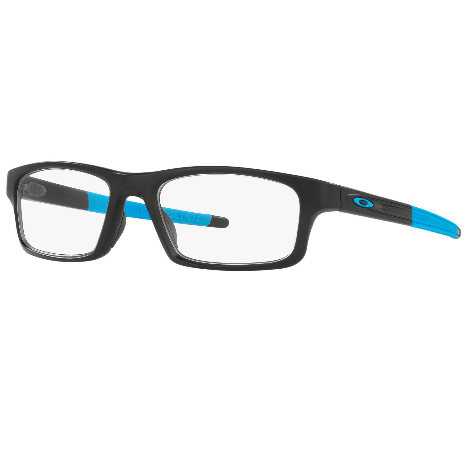 2cab8b0216 Lyst - Oakley Crosslink Pitch Ox 8037 01 52mm Black Rectangular ...