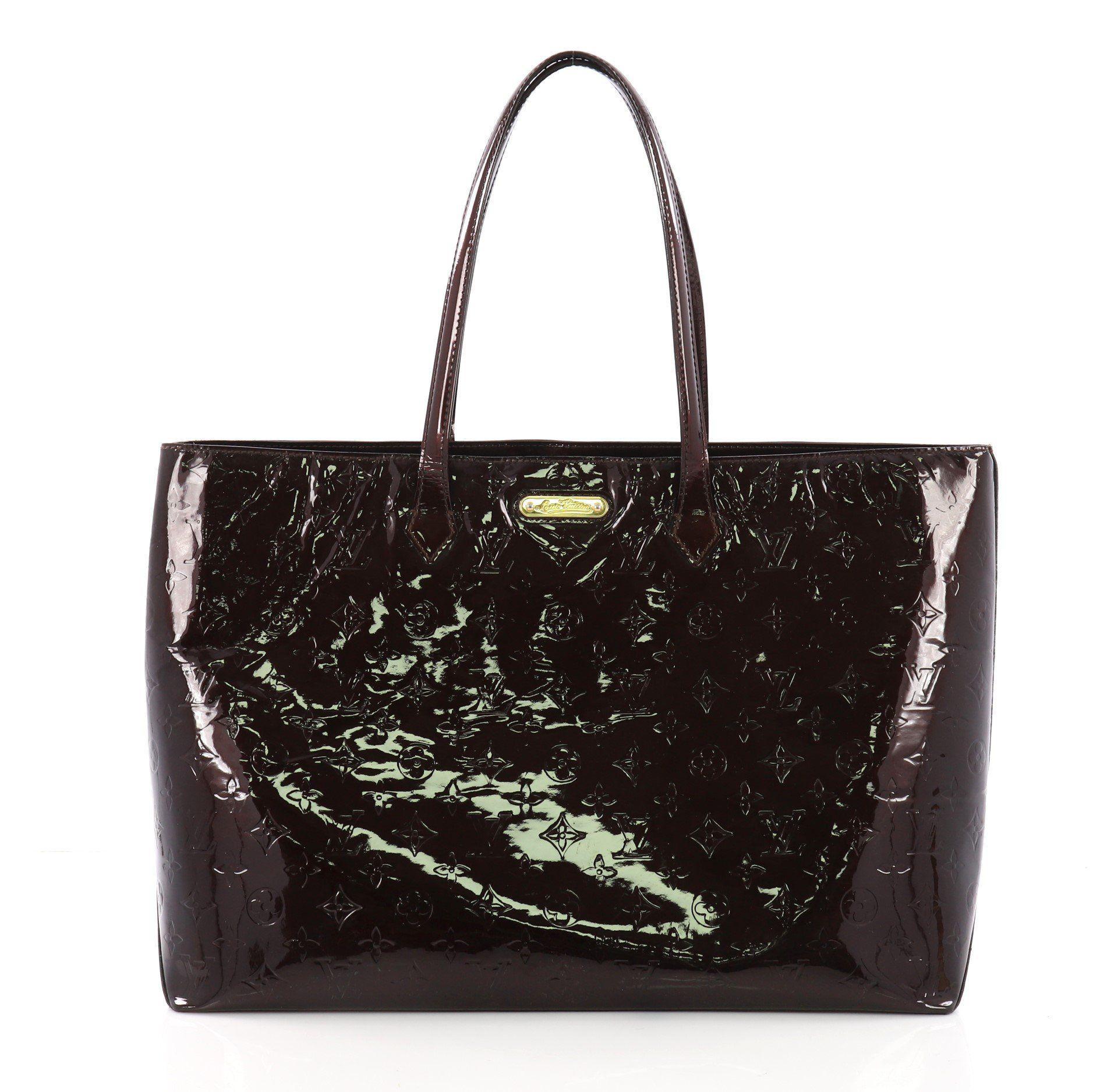 5b9229ea99db Louis Vuitton Monogram Vernis Patent Leather Handbag - Best Handbag 2018