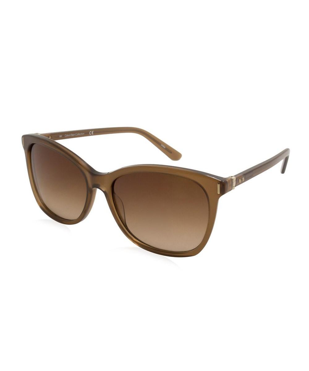 Lyst Klein Ck8514s in Calvin Women Brown Sunglasses 88OfTAqRr