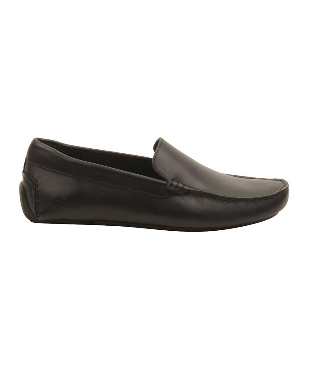 146d4ad89 Lacoste - Mens Piloter 117 Loafers In Black for Men - Lyst. View fullscreen