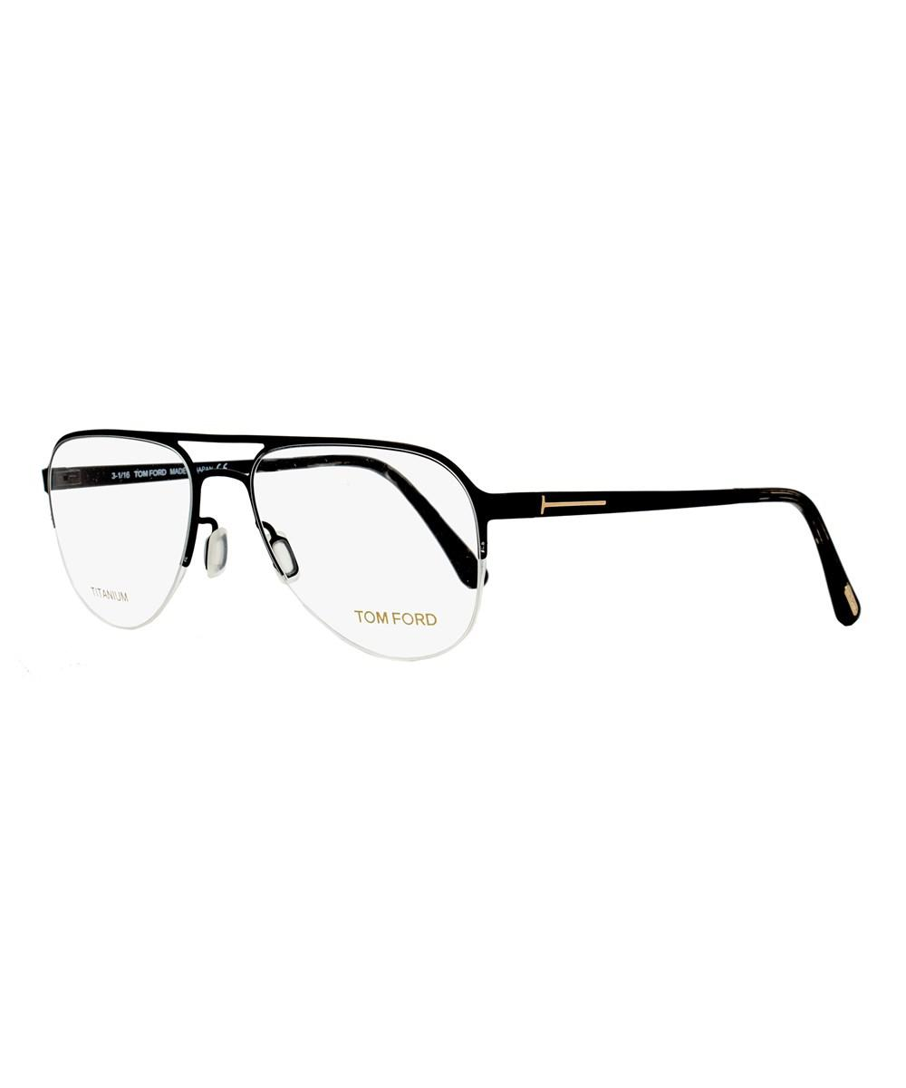 6533989202df4 Tom Ford Semi-rimless Eyeglasses Tf5370 002 Size  53mm Black ...