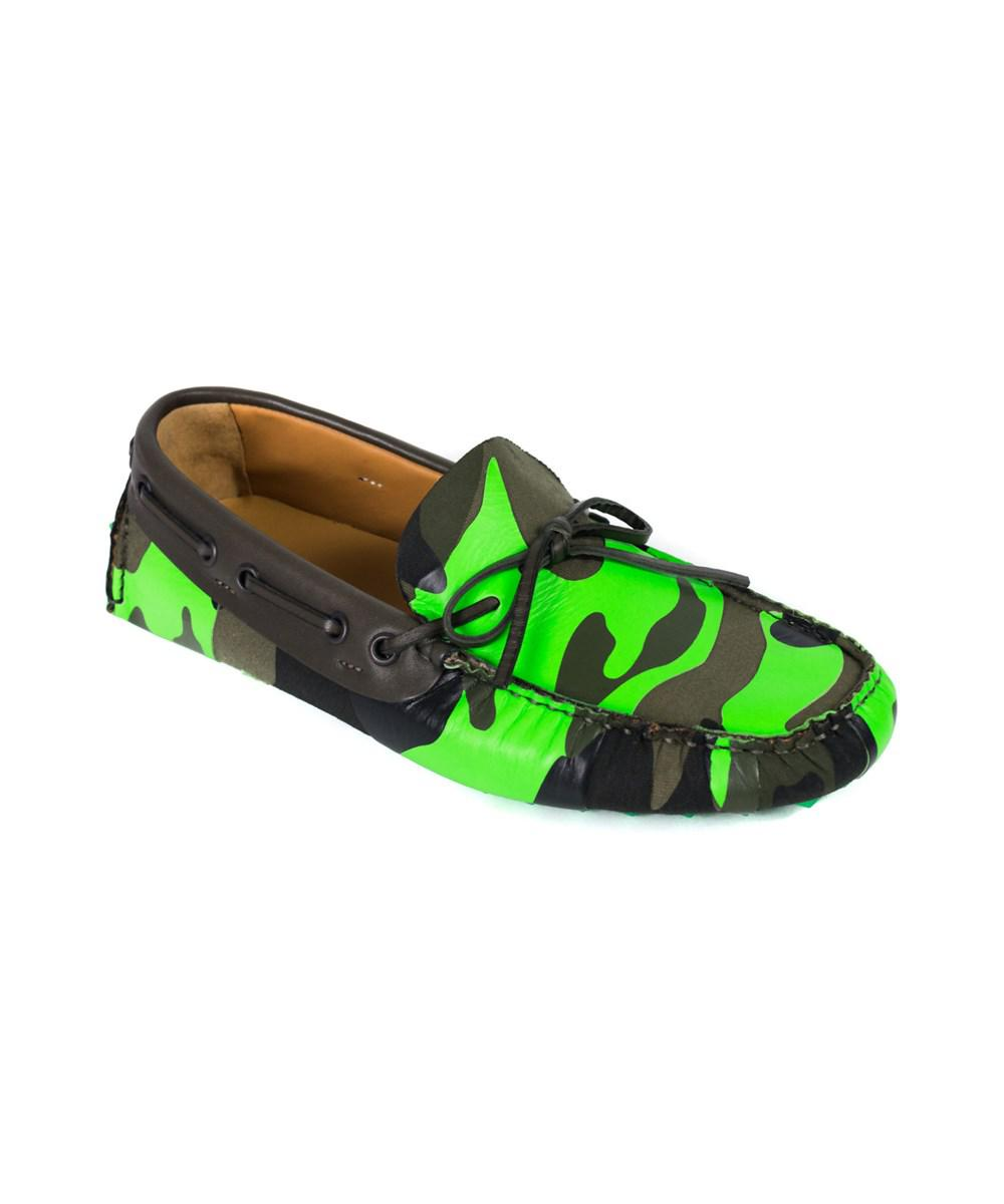 44bd5dfe57e8af Lyst - Valentino Garavani Mens Leather Strap Thong Sandals in Green ...