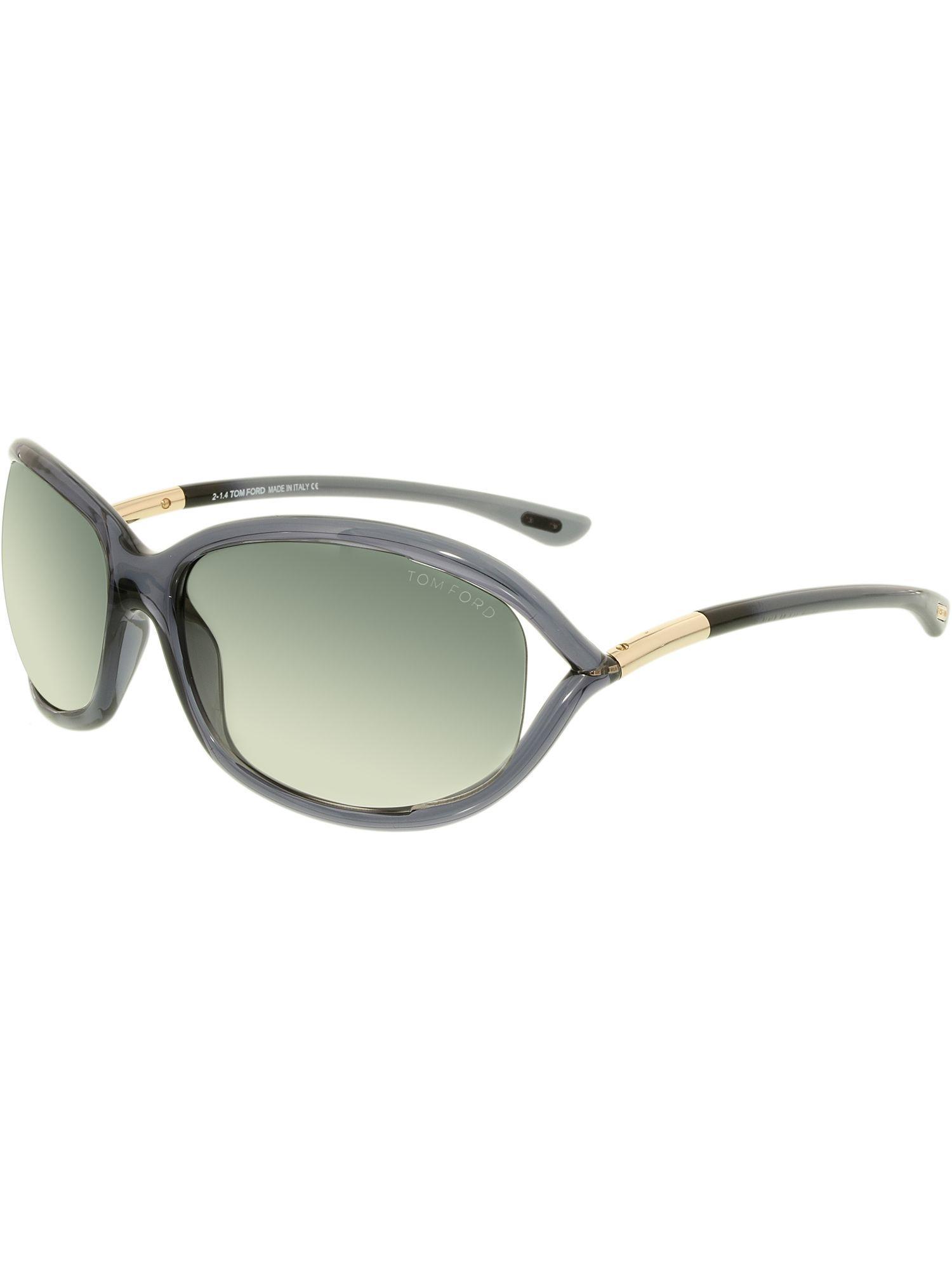 258dfe61b2f0 Tom Ford - Women s Gradient Jennifer Ft0008-0b5-61 Black Square Sunglasses  - Lyst. View fullscreen
