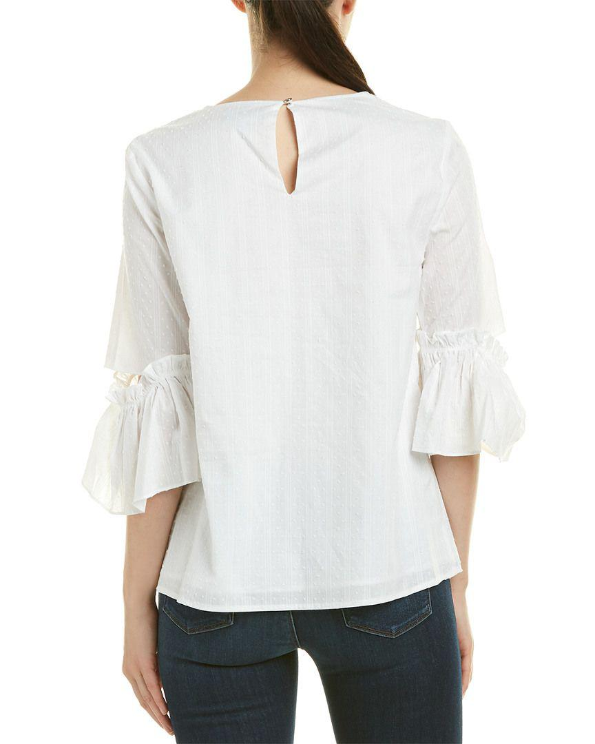 e9be66b50fb Lyst - Cece By Cynthia Steffe Top in White - Save 84.81012658227849%
