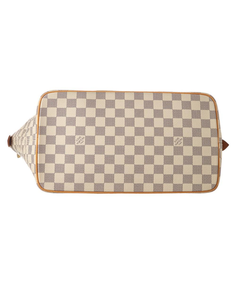 e876ec3023dc Lyst - Louis Vuitton Damier Azur Canvas Saleya Mm in White