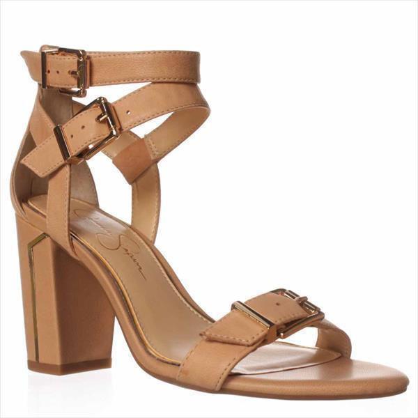 3f3c5cd8922 Jessica Simpson. Women s Brown Julinda Dress Sandals ...