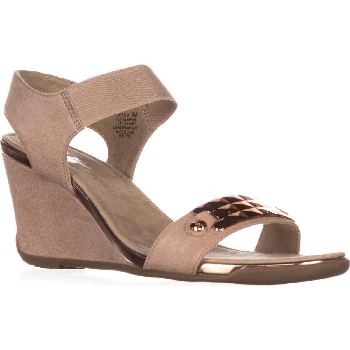 a631d0635ff2 Anne Klein. Women s Ak Sport Latasha Comfort Wedge Sandals ...