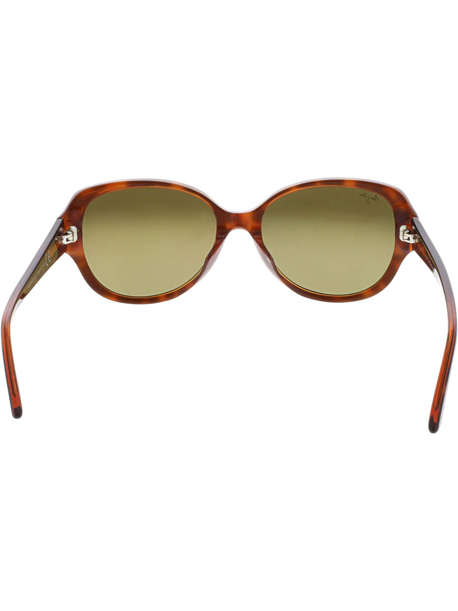 aed2b38895eda Maui Jim - Women s Polarized Swept Away Hs733-10n Brown Butterfly Sunglasses  - Lyst. View fullscreen