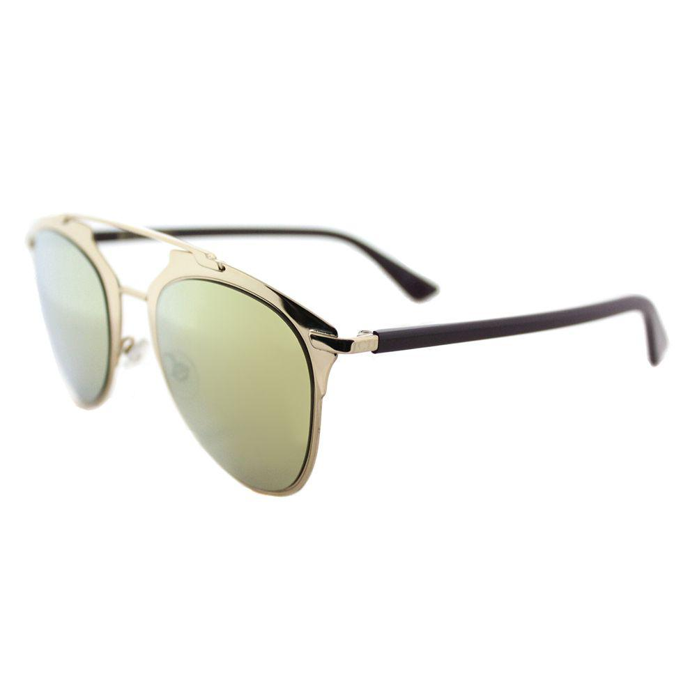 98622fe1ad7c Lyst - Dior Cd Reflected Yc2 K1 Gold Plum Aviator Sunglasses in Metallic
