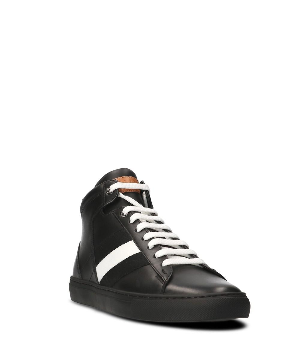 Bally Men's Black Leather Hi To... buy cheap outlet locations free shipping fashionable collections cheap online cheap outlet W7IBKEkNdQ
