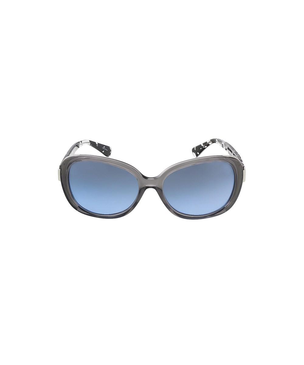 e3c144efd63f ... uk lyst coach hc8172 536817 dark grey crystal butterfly sunglasses in  c0970 36c2e
