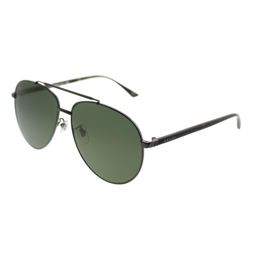 08dd14e5e3 Gucci - Multicolor Gg0043sa 003 Ruthenium Aviator Sunglasses - Lyst. View  fullscreen