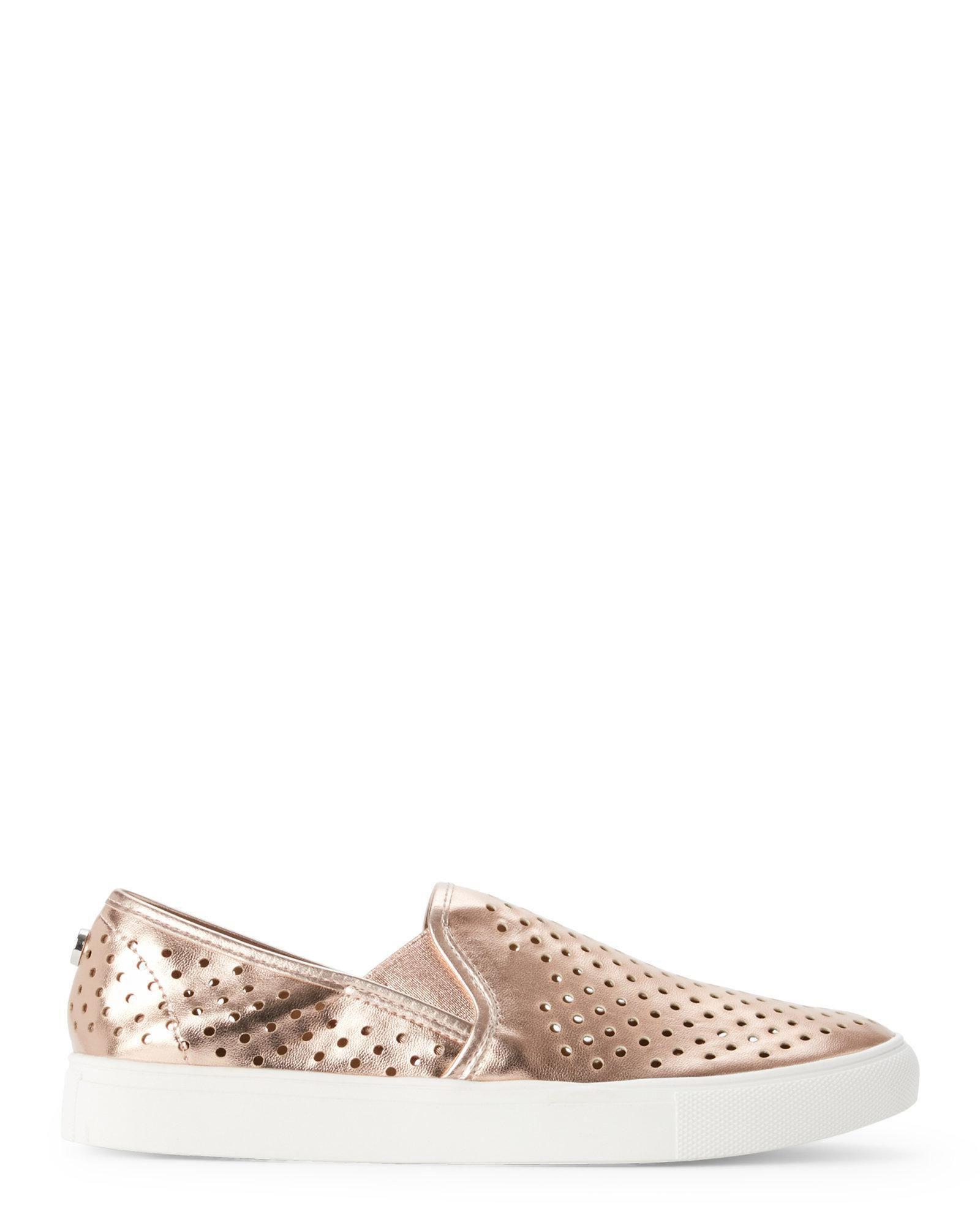 3774d34a9d9 Lyst - Steven By Steve Madden Womens Owen Low Top Slip On Fashion Sneakers  in Pink
