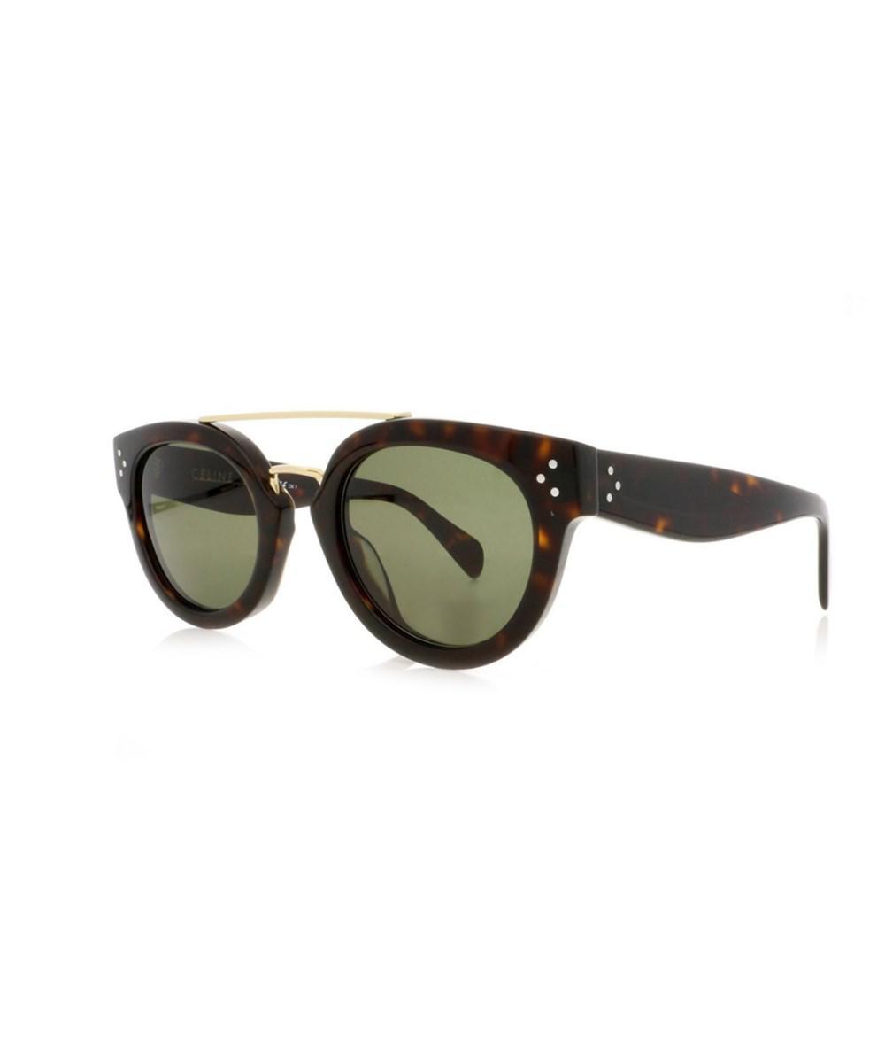 bff49b7e7074f Lyst - Céline 41043 s Women Sunglasses in Green