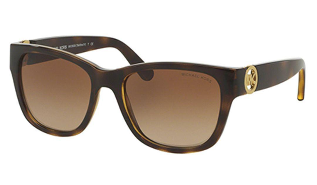 fb482ddad8c4a Lyst - Michael Kors Mk6028 Tabitha Women Sunglasses in Brown