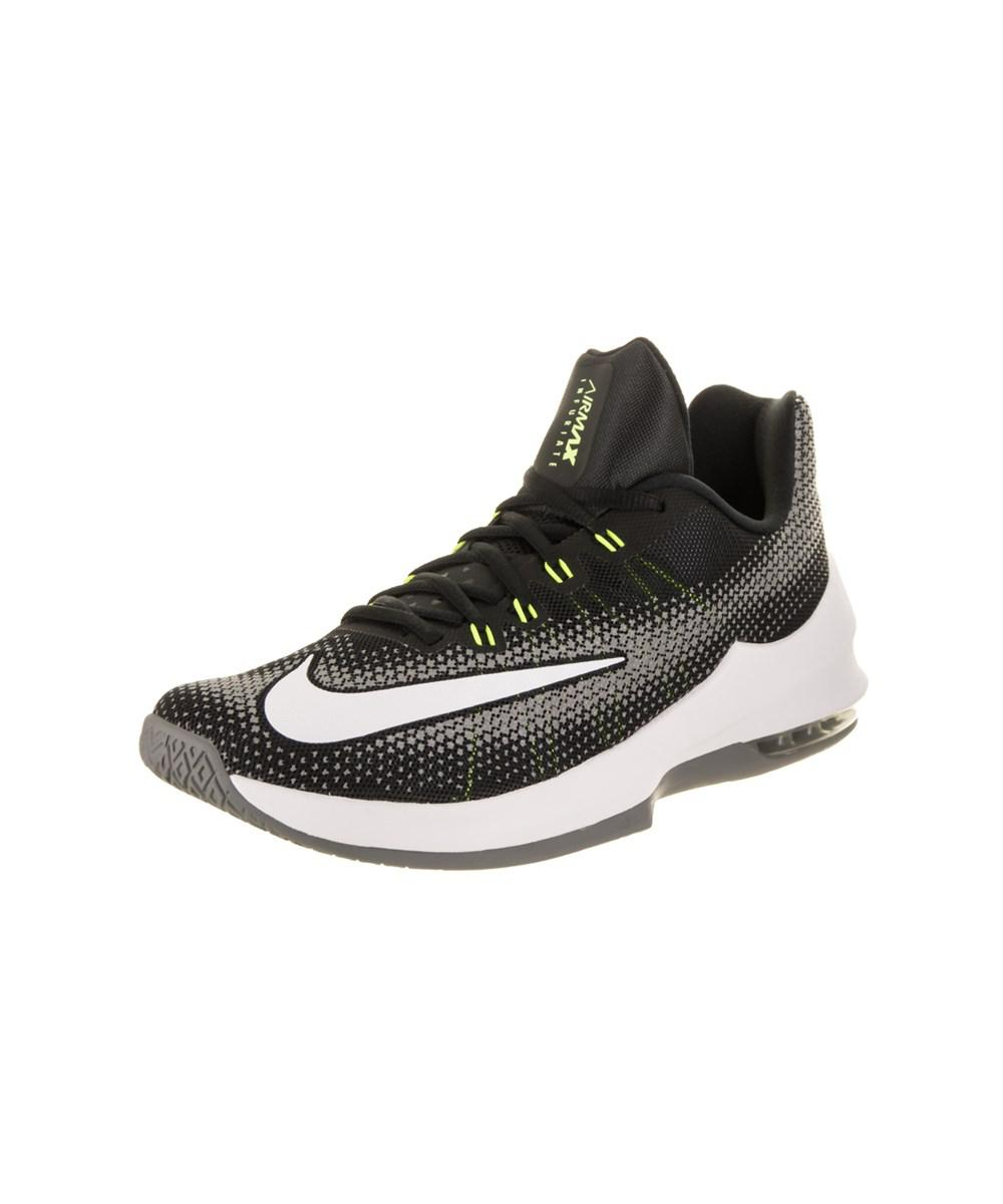 timeless design 1cc99 a5e8c Nike. Black Men s Air Max Infuriate Low Basketball Shoe