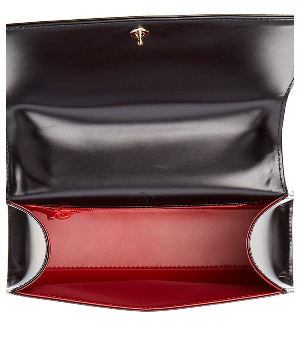 Lyst - Louis Vuitton Black Leather Opera Athens in Black 14dcebce63d19