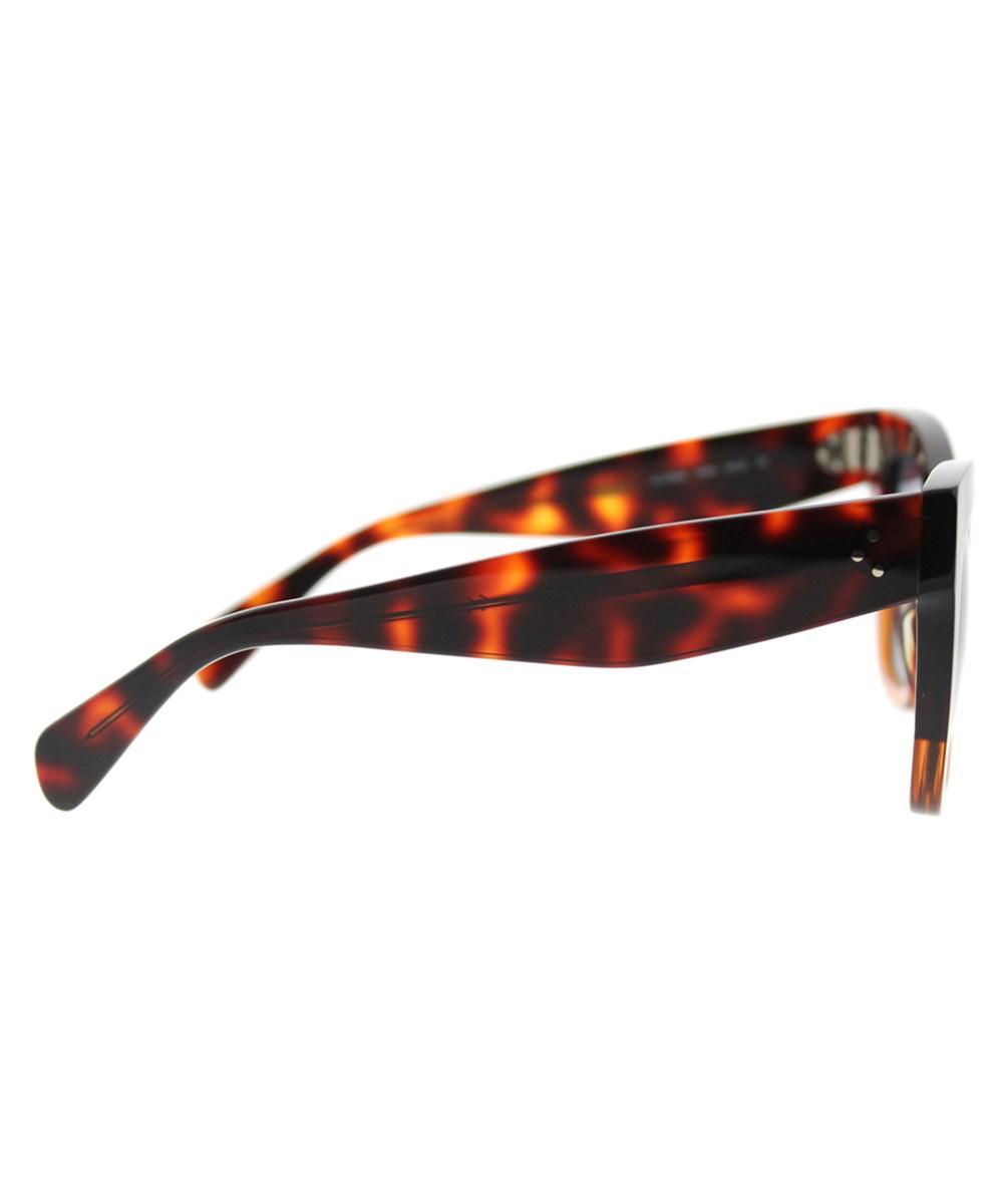 407067144ff60 Céline Catherine Cl 41090 233 Havana Brown Square Sunglasses in ...